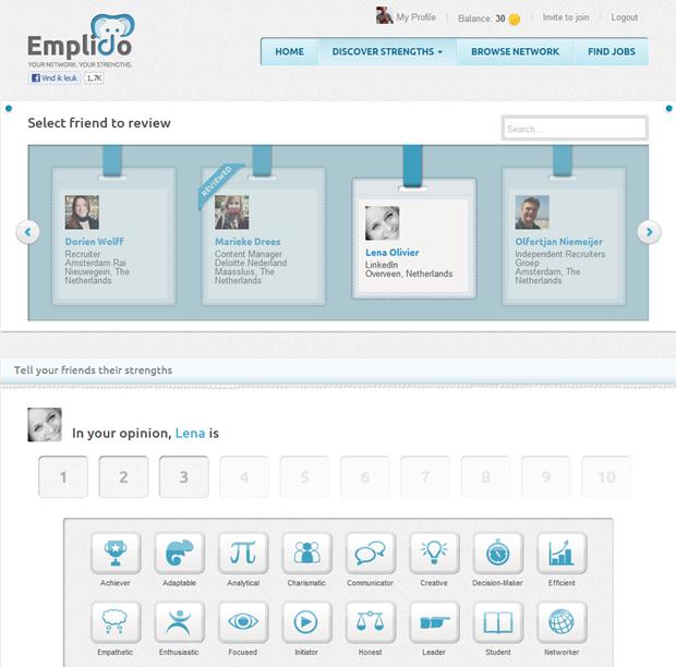 Emplido | Discover strengths