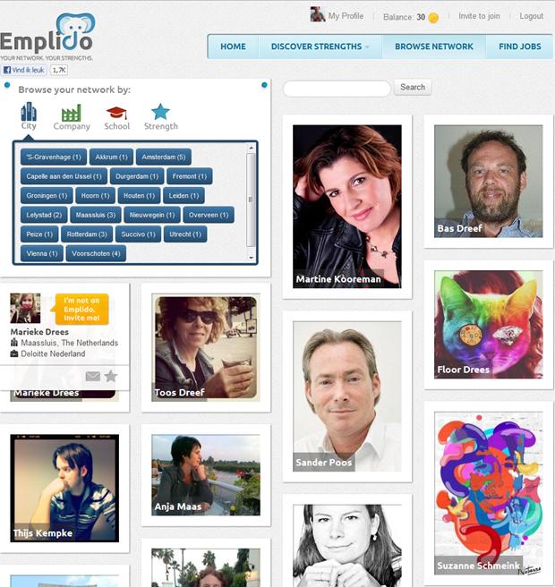 Emplido | Browse network