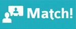 Logo en logotype Match!
