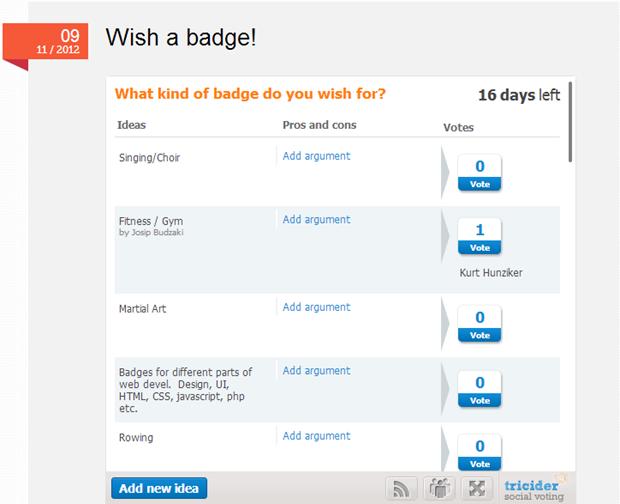 Stablish.me | new badges