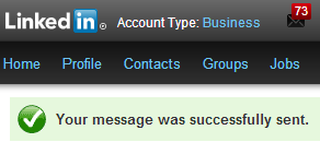 LinkedIn melding