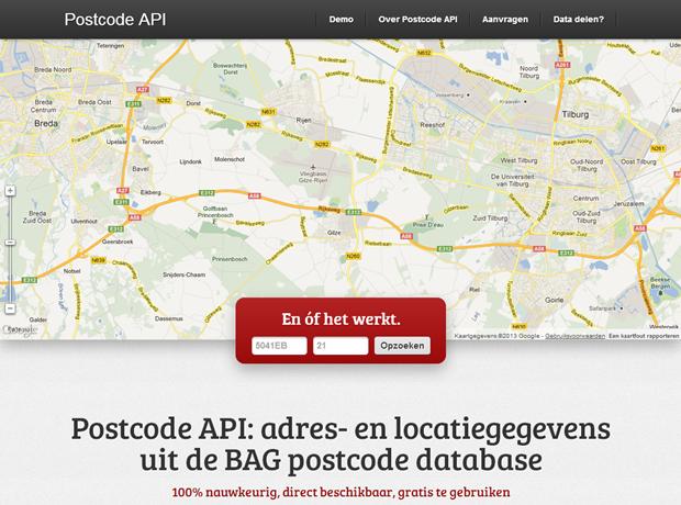 Postcode API