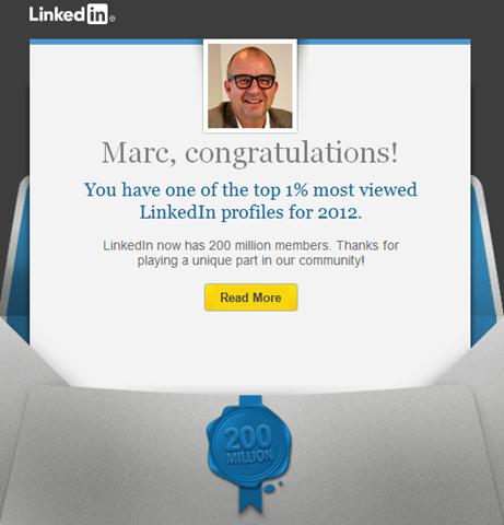 LinkedIn e-mail
