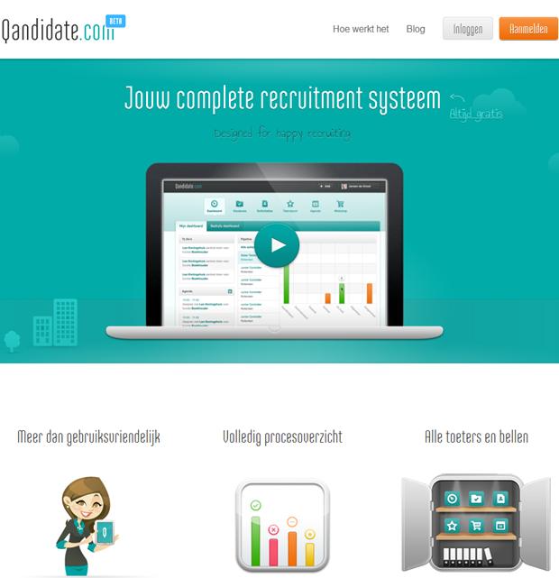 Qandidate | Homepage