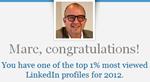 top 1% LinkedIn e-mail