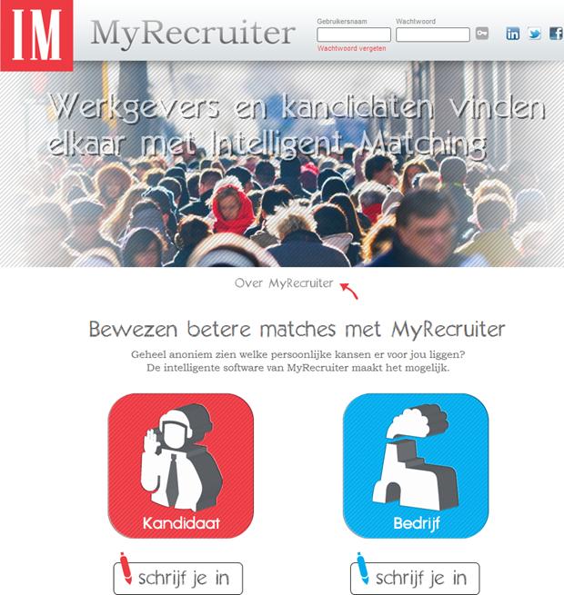 MyRecruiter | Homepage