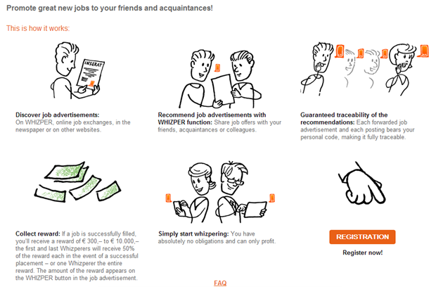 Whizper | referral proces