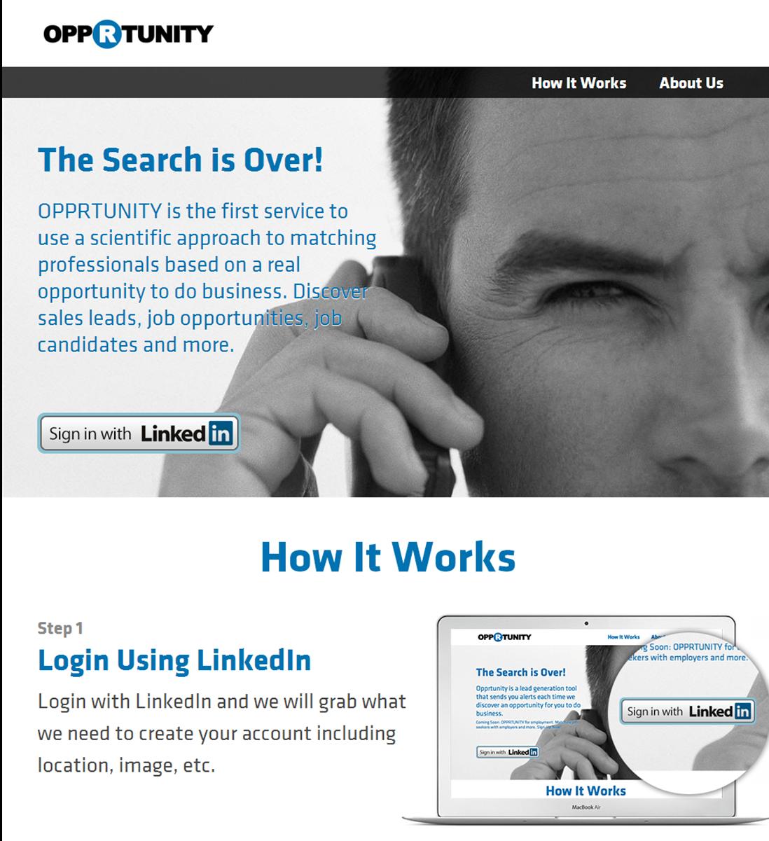 Opprtunity | Homepage