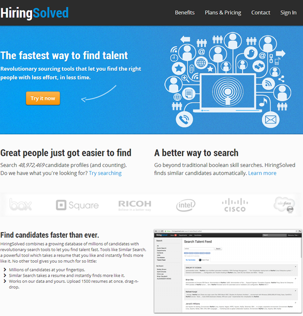 HiringSolved | Homepage