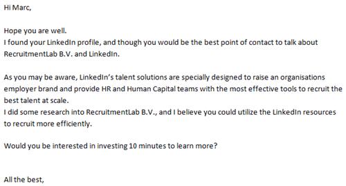 E-mail LinkedIn