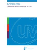 UWV Juninota 2013
