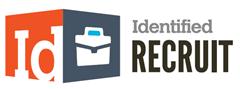Logo en logotype Identified Recruit