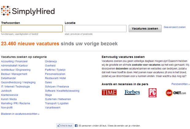 SimpyHired | Homepage