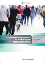 De kwantitatieve ontwikkeling van de Nederlandse beroepsbevolking, met speciale aandacht voor de periode 2013 – 2024