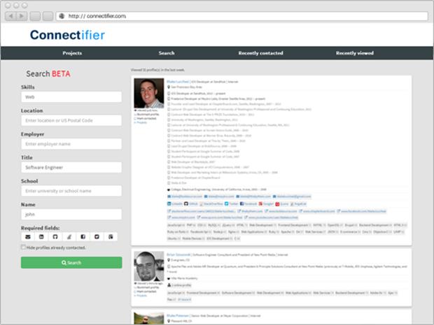 Screenshot Connectifier