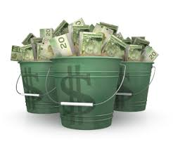 IJsemmers vol geld