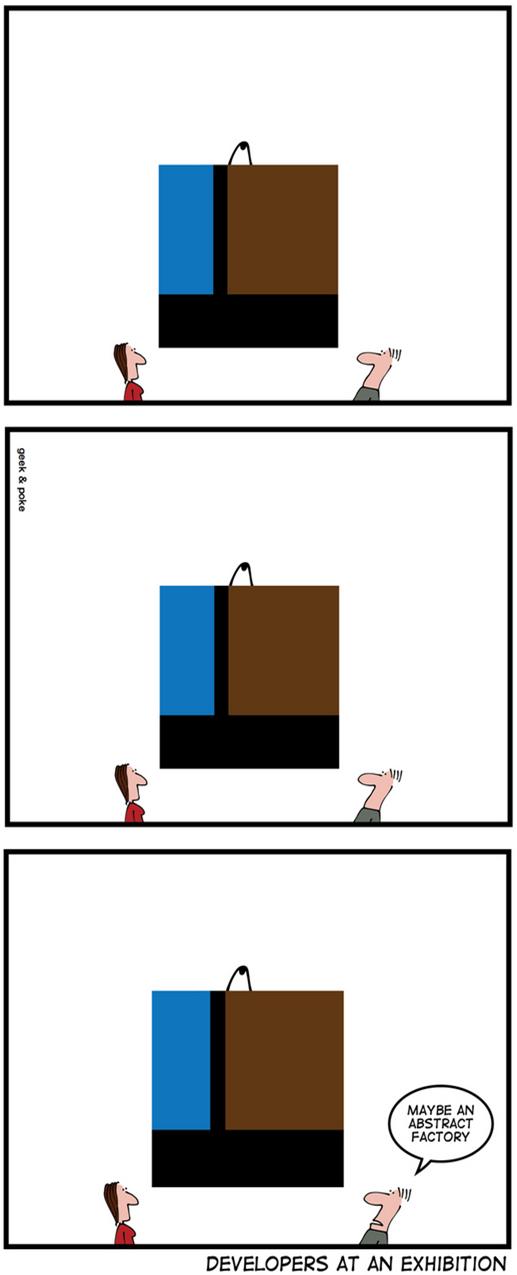 Geek & Poke: Developers