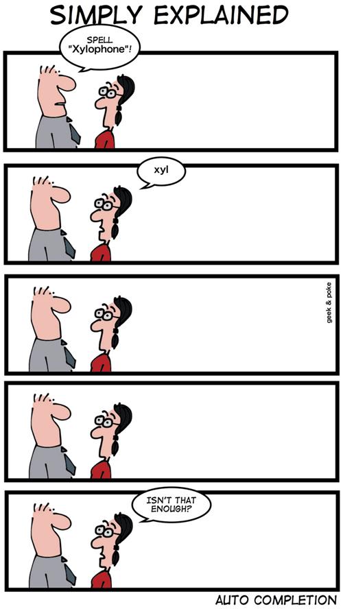 Geek & Poke: Simply explained