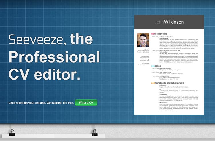 Homepage Seeveeze