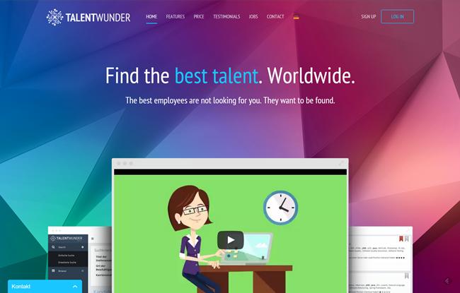 Homepage Talentwunder