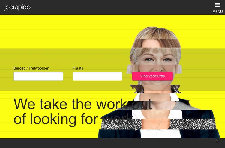 Homepage Jobrapido