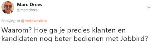 Tweet Marc Drees