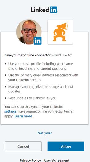 Haveyoumet LinkedIn