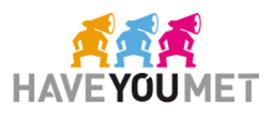 Haveyoumet logo, logotype
