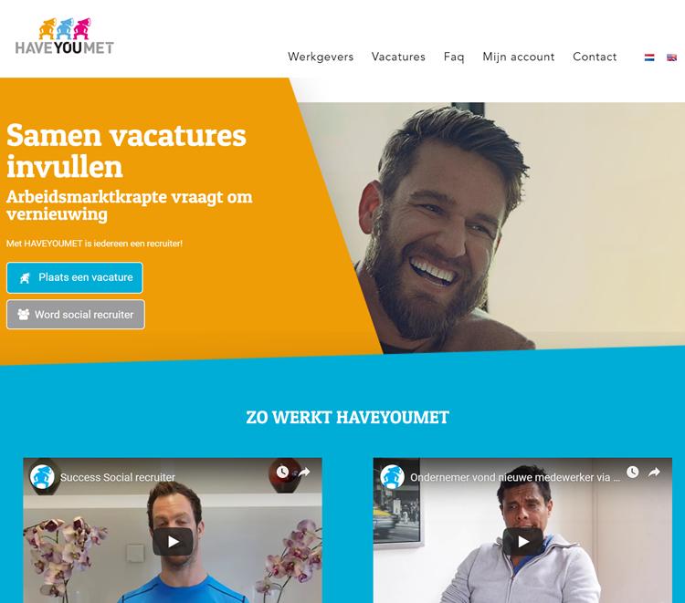 Haveyoumet homepage