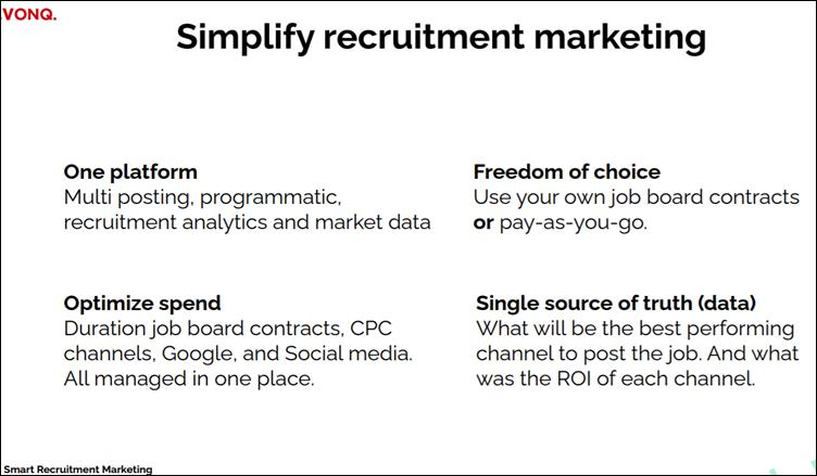 VONQ.: Simplify recruitent marketing