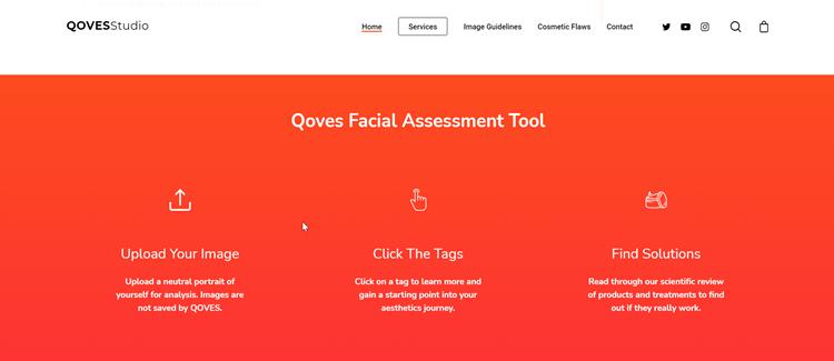 Qoves Facial Assessment Tool
