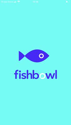 Fishbowl start screen
